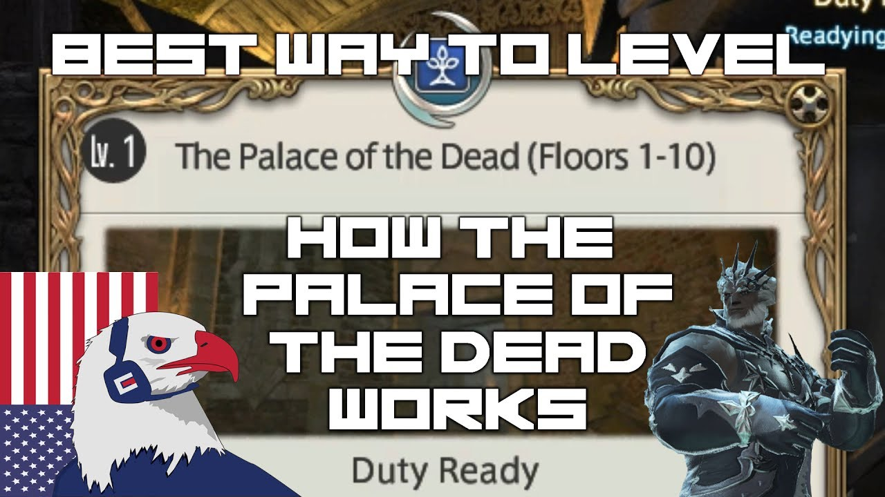 ff14 palace of the dead leveling guide