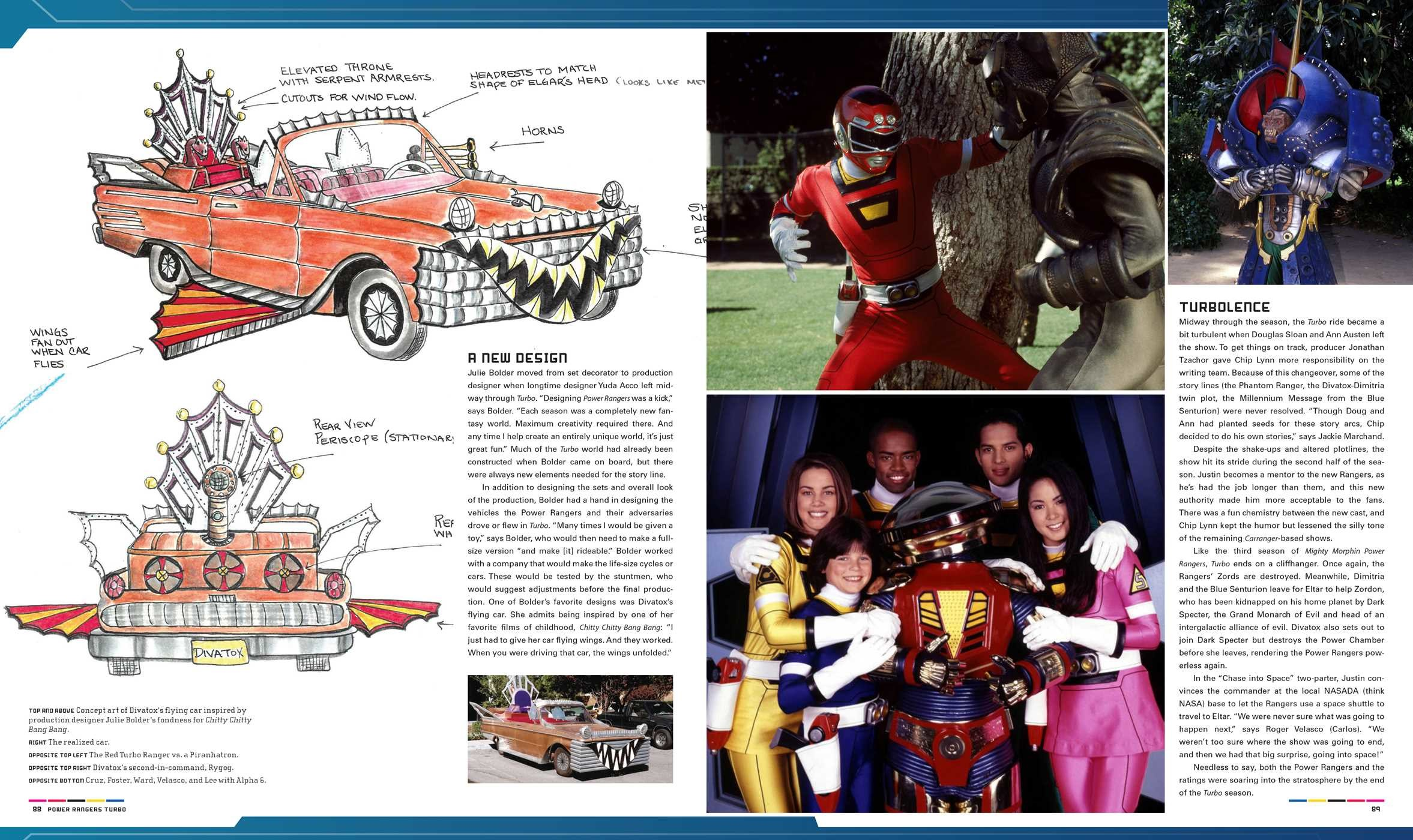 power rangers official guide book