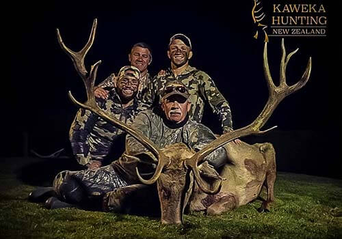 hunting guides new zealand north island