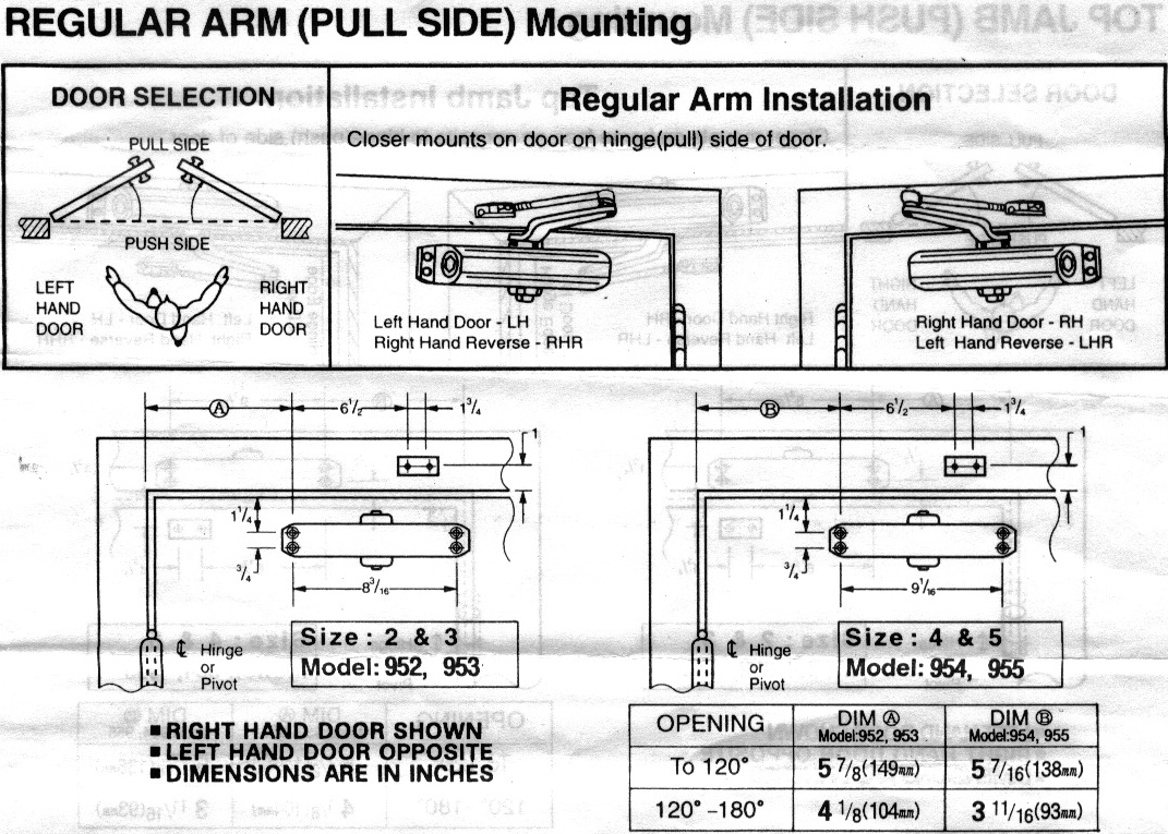 installation guide for electro door magnits