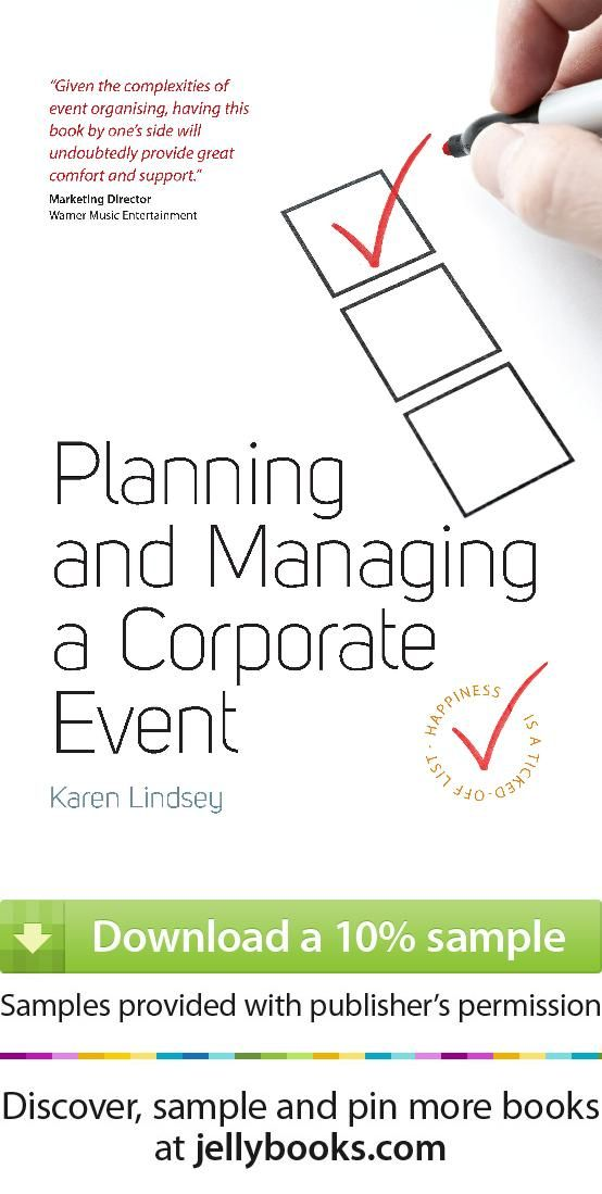 planning guide for event managers