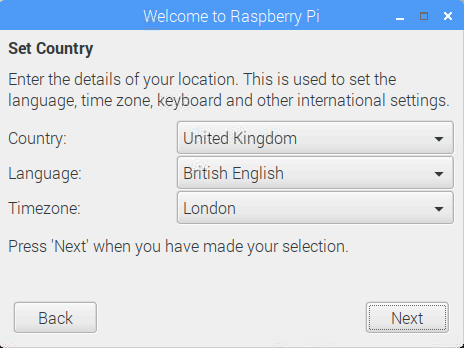 raspberry pi first start up guide