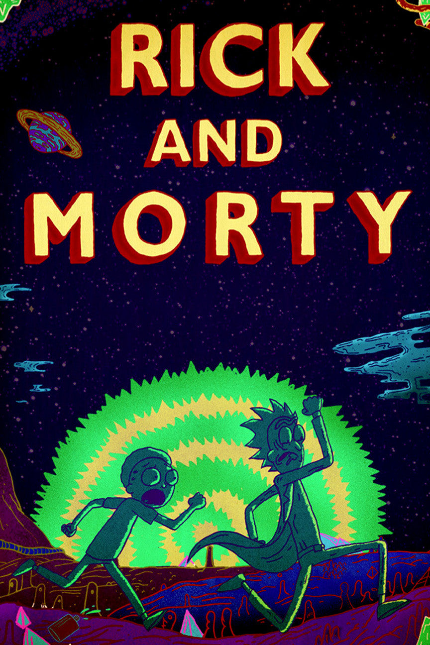 rick and morty official coloring book guide