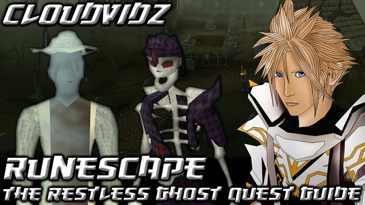 runescape 2007 the restless ghost quest guide
